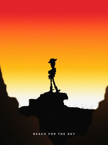 Toy Story 2 壁纸 with a sunset entitled toy story 2 poster