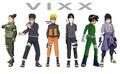 vixx anime friends - vixx fan art