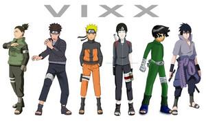 vixx anime friends