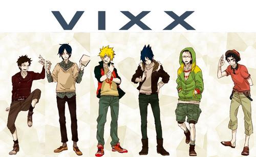VIXX karatasi la kupamba ukuta entitled vixx anime
