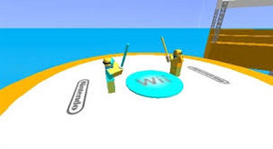 wii sword play roblox