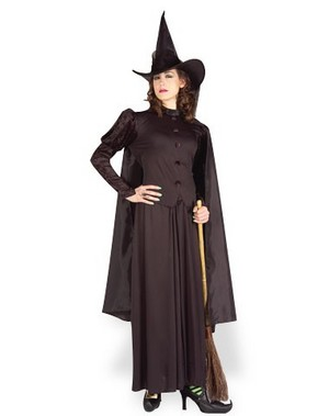 witch in costume