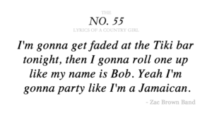 zac brown band lyrics