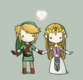 zelink lovey dovey - the-legend-of-zelda photo