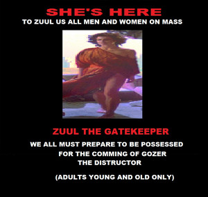 zuul recruitment poster by frankie smales