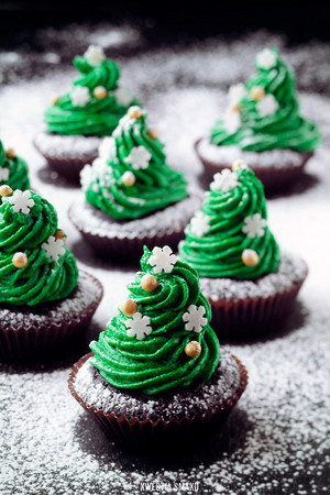 Natale cupcakes*.*❤ ❥