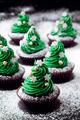 Christmas cupcakes*.*❤ ❥