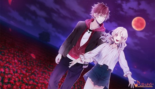 Diabolik amoureux fond d'écran possibly containing a concert and a hip boot titled [Dark Fate] Ayato and Yui