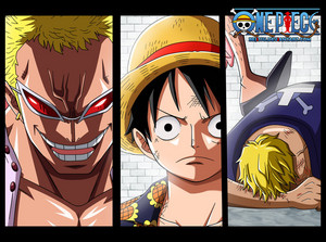 *Doflamingo Luffy Bellamy*