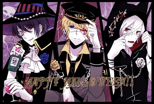 Diabolik amoureux fond d'écran titled [Halloween] Reiji, Shu, Subaru and their costumes