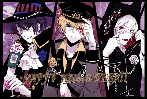 [Halloween] Reiji, Shu, Subaru and their costumes