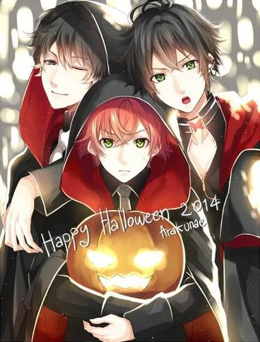 ডিজাবলিক প্রেমী দেওয়ালপত্র called [Halloween] Ruki, Ayato, Zen
