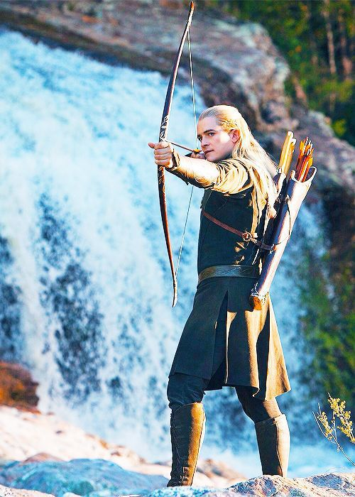 Orlando Bloom As Legolas Greenleaf Legolas - Legol...