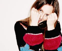 Leighton Meester photographed par Felisha Tolentinofor Nylon, November 2014