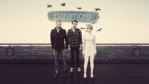 Paramore achtergrond possibly with a business suit, a sign, and a straat called PaRaM♥Re!