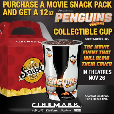 """Penguins of Madagascar"" Collectible Cup"