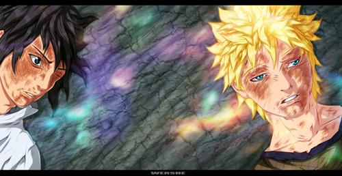 우즈마키 나루토 (질풍전) 바탕화면 possibly with 아니메 entitled *Sasuke / Naruto*