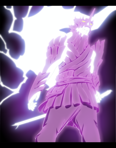 naruto shippuden wallpaper called *Sasuke's Bijuu Susanoo*