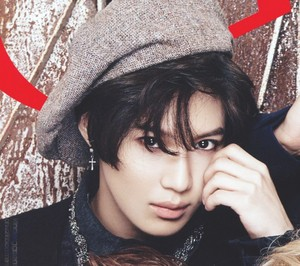[Scans] CeCi Magazine 2014 December Issue - Taemin 이태민 李泰民