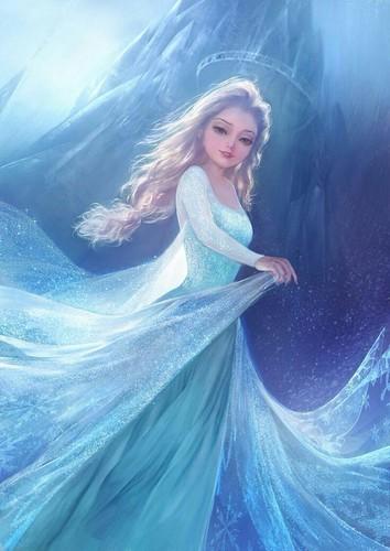 Elsa the Snow क्वीन वॉलपेपर called Snow क्वीन