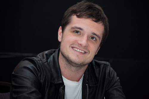 "Josh Hutcherson wallpaper titled ""The Hunger Games: Mockingjay Part 1"" Press Conference"