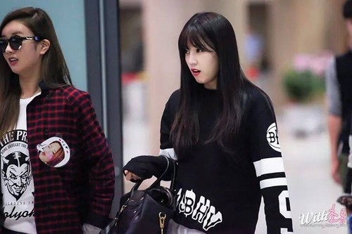 Park ChoRong দেওয়ালপত্র probably with a hip boot called