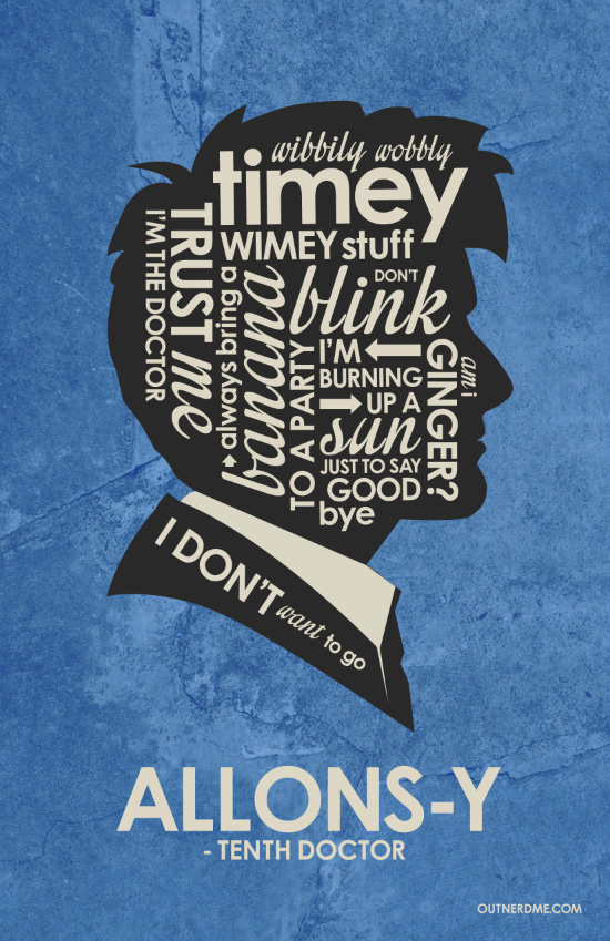 10th Doctor Quote Poster
