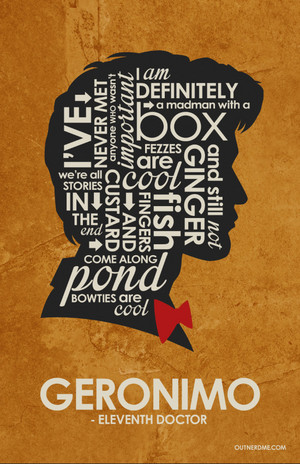 11th Doctor Quote Poster