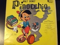 1954 VINYL ALBUM RECORD FOR SALE - pinocchio photo