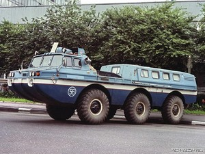 1969 Russian urban tank