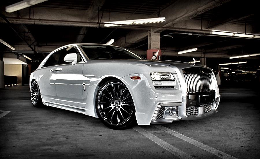 2013 Custom Rolls Royce Ghost Nocturnal Mirage Photo