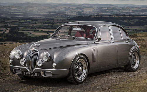 Nocturnal Mirage fond d'écran containing a sedan entitled 2015 Jaguar Mk2 par Ian Callum