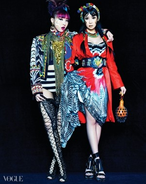 2ne1 Vogue Korea photoshoot❤ ❥