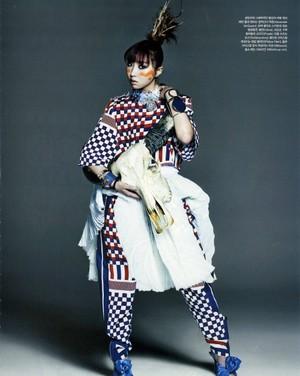 투애니원 Vogue Korea photoshoot❤ ❥