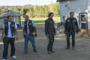 7x10 - Faith and Despondency - Jax, Happy, Tig and Chibs