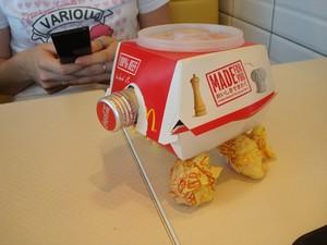 A Burger Tank!