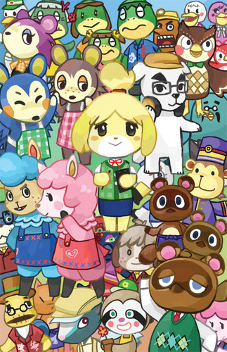 Animal crossing images acnl fan art hd fond d cran and background photos 37705833 - Coupes animal crossing new leaf ...