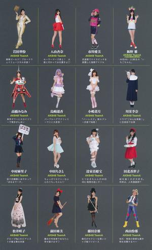 AKB48 Janken Taikai Costumes 2014