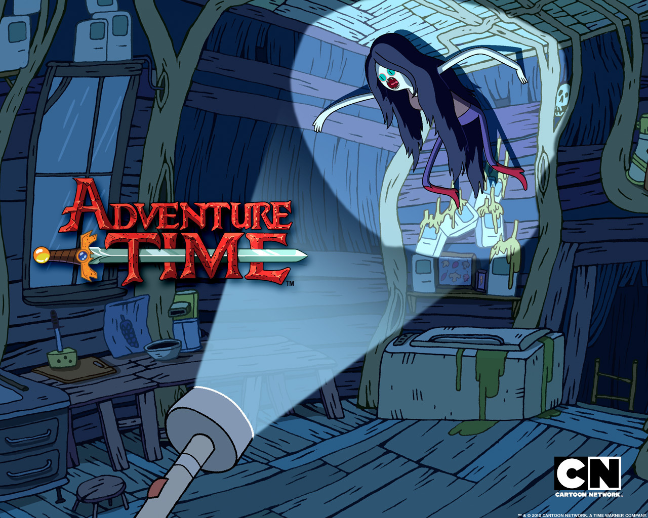 AT Marceline the Vampire क्वीन