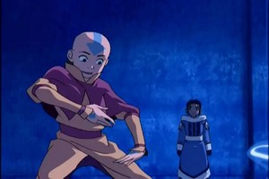 Aang and Katara-ATLA-Screencaps.