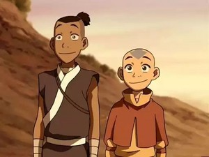 Aang and Sokka-ATLA-Screencaps.