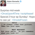 Adam's Tweet  - once-upon-a-time photo