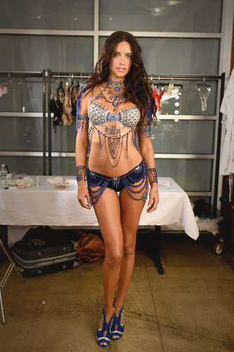 Adriana Lima wallpaper probably with a swimsuit, hot pants, and an underwear entitled Adriana Lima