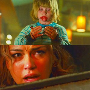 Adrianne vs. Creepy Child in 'Legion'