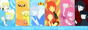 Adventure Time Fathers দিন