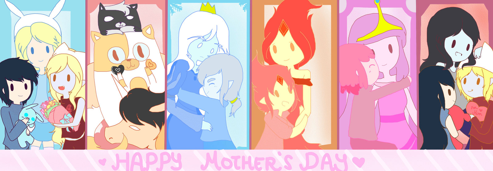 Adventure Time Mothers Day