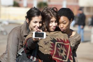 Alanna Masterson, Lauren Cohan and Sonequa Martin-Green