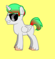 Alicorn with Sunglasses
