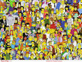 All the Characters - the-simpsons photo