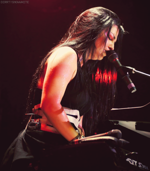 Amy Lee on the konser